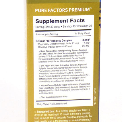 Pure Factors Premium by Pure Solutions - 1 Ounce