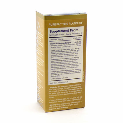 Pure Factors Platinum By Pure Solutions - 1 Ounce