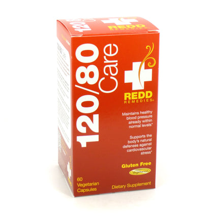 120 / 80 Blood Pressure Support By Redd Remedies - 60 Capsules