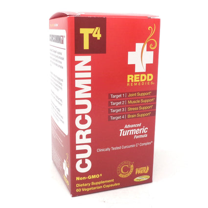 T4 Curcumin by Redd Remedies - 60 Capsules