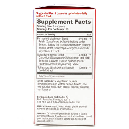 Redd Remedies Immune Advanced - 60  Capsules