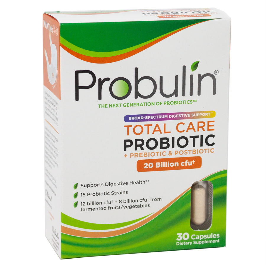 Probulin Total Care Probiotic - 30  Capsules