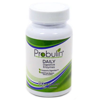 Daily Digestive Enzymes  by Probulin - 60 Capsules