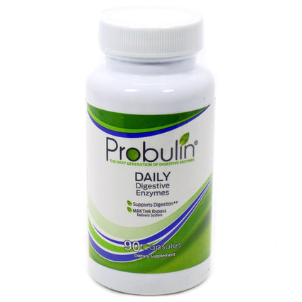 Daily Digestive Enzymes by Probulin - 90 Capsules
