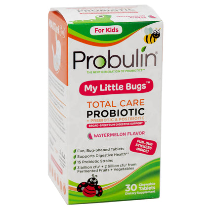 Probulin My little Bugs Watermelon - 30 Tablets