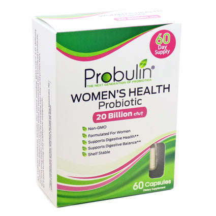 Women's Health Probiotic by Probulin - 60 Capsules