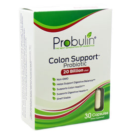 Colon Support Probiotic 20 Billion By Probulin - 30 Capsules