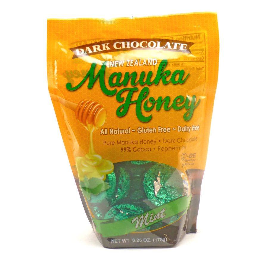Manuka Honey Dark Choco Mint  by Pacific Resources - 6.25 Ounces
