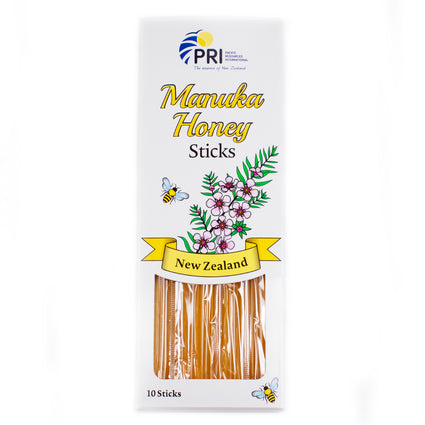 Manuka Honey Sticks by Pacific Resources - 10 Pack