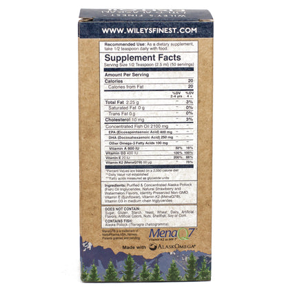 Beginners DHA  by Wiley's Finest - 50 Servings