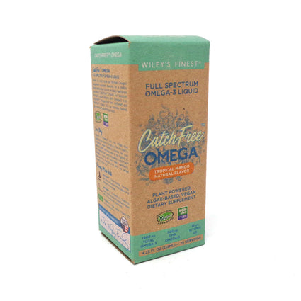Wiley's Finest Catch Free Omega Tropical Mango - 4.23 Fluid Ounces