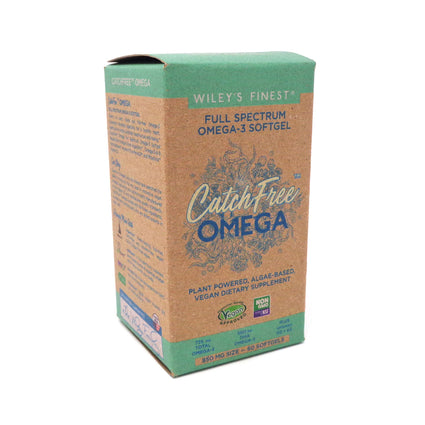 Wiley's Finest Catch Free Omega 850mg - 60 softgels