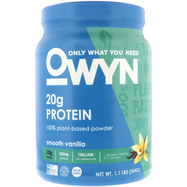 OWYN Plant Protein Powder Smooth Vanilla Flavor - 14 Servings