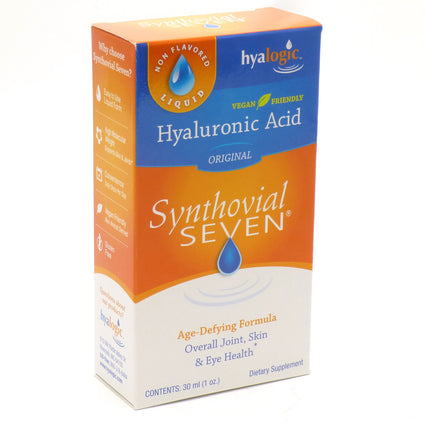 Hyalogic Synthovial Seven Hyaluronic Acid By Hyalogic - 1 Ounce (30 ml)