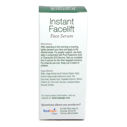 Hyalogic Instant Facelift Serum By Episilk Hyalogic - 1 Ounce