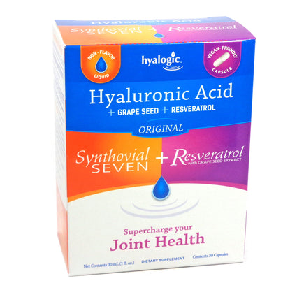 Hyalogic Joint Logic Synthovial Seven Plus by Hyalogic - 30 ml+ 30 capules