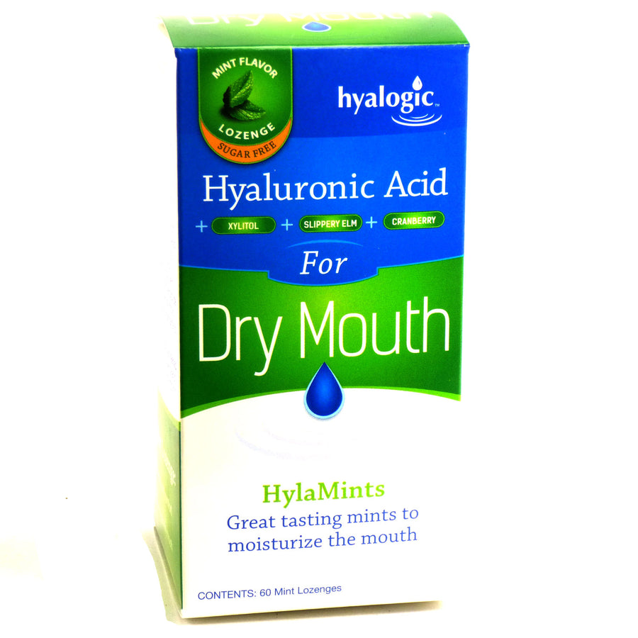 Hyalogic Hyaluronic Acid for Dry Mouth by Hyalogic - 60 Lozenges