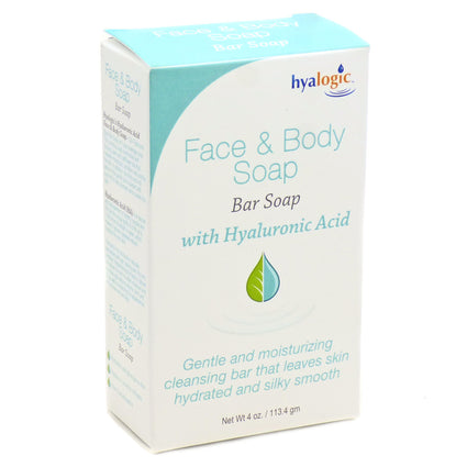Hyalogic Face & Body Soap with Hyaluronic Acid  by Hyalogic -  4 Ouce Bar