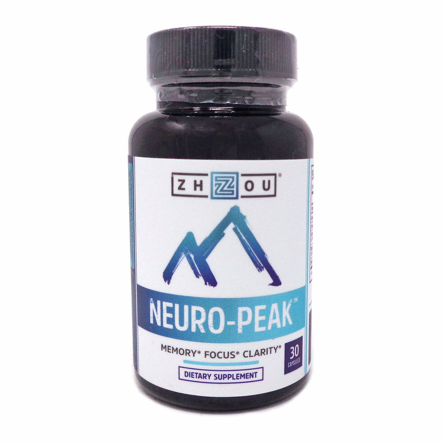 Zhou Nutrition Neuro-Peak Brain Support 30 Capsules