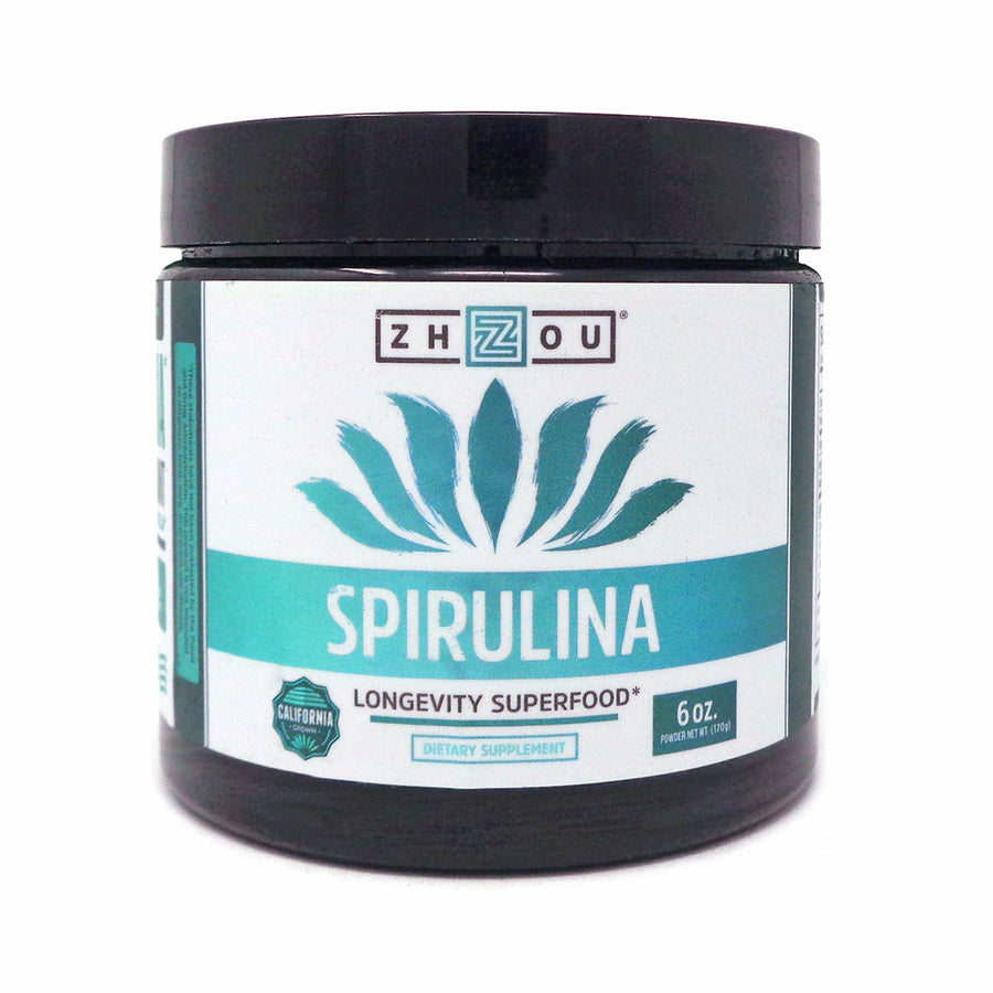 Zhou Nutrition Spirulina Powder 6oz.