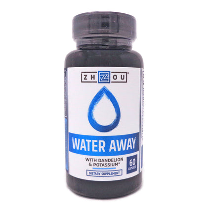 Zhou Nutrition Water Away Herbal Diuretic 60 Capsules
