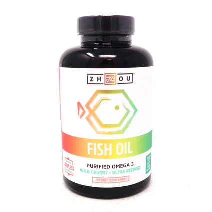Zhou Nutrition Fish Oil - 90 Servings