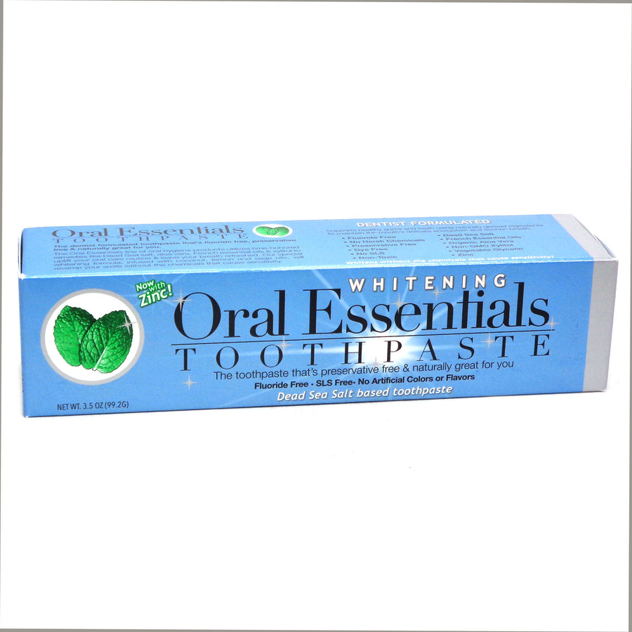 Toothpaste Whitening by Oral Essentials - 3.5 Ounces