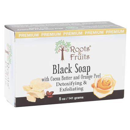 Roots and Black  Soap   -  5 Ounces