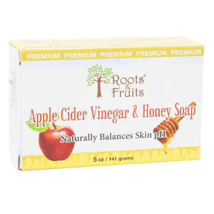 Roots and Fruits Apple Cider vinegar and Honey Soap