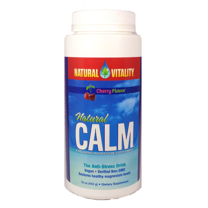 Natural Calm Cherry  by Natural Vitality - 16 Ounces