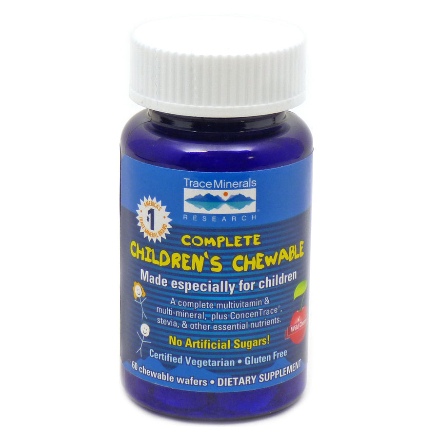 Complete Children's Chewables By Trace Minerals Research - 60 Wafers