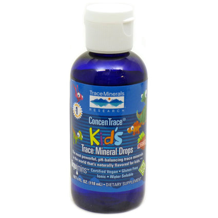 ConcenTrace Kids Trace Minerals By Trace Minerals Research - 4 Ounces