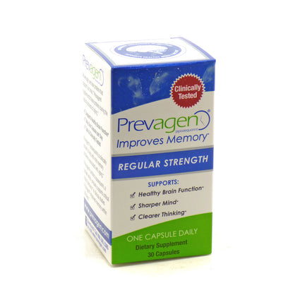 Prevagen Regular Strength by Quincy Bioscience - 30 Capsules