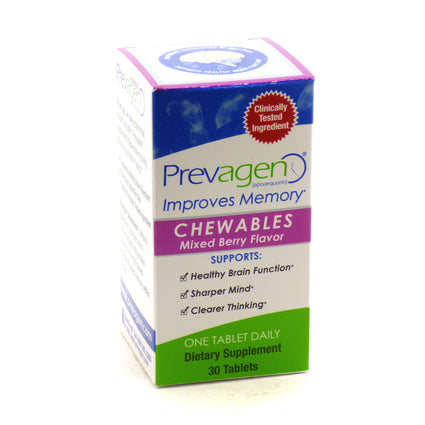 Prevagen Chewables by Quincy  Bioscience - 30 Capsules