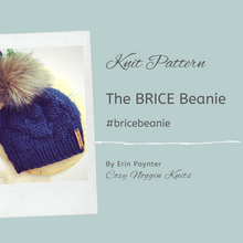 The BRICE Beanie // Knit Pattern