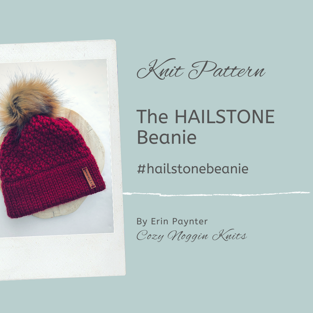 The HAILSTONE Beanie  // Knit Pattern