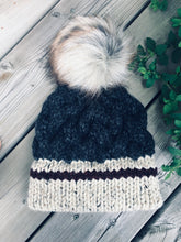 The CHUNKY MONKEY Cabled Hat // Knit Pattern