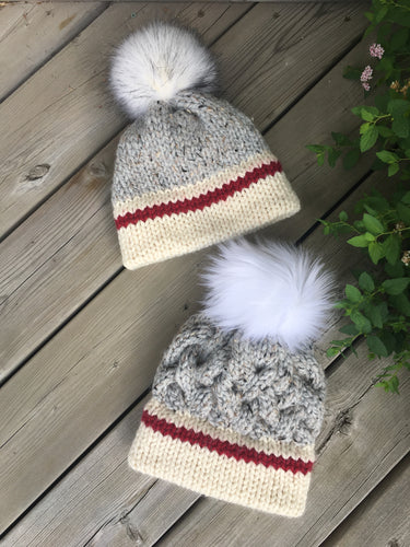 CHUNKY MONKEY Sock Monkey Hat (Light)