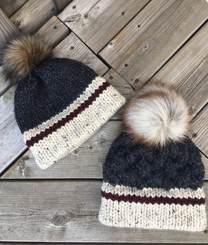 CHUNKY MONKEY Sock Monkey Hat (Dark)