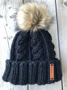 ADRIANDER Cabled Toque