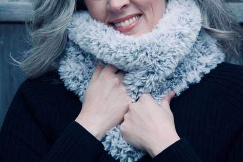 MANITOULIN Faux Fur Cowl