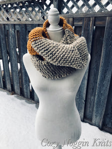 ELLESMERE Oversized Tapered Scarf