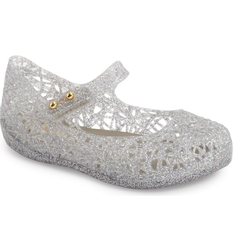 'Campana' Mary Jane Flat MINI MELISSA
