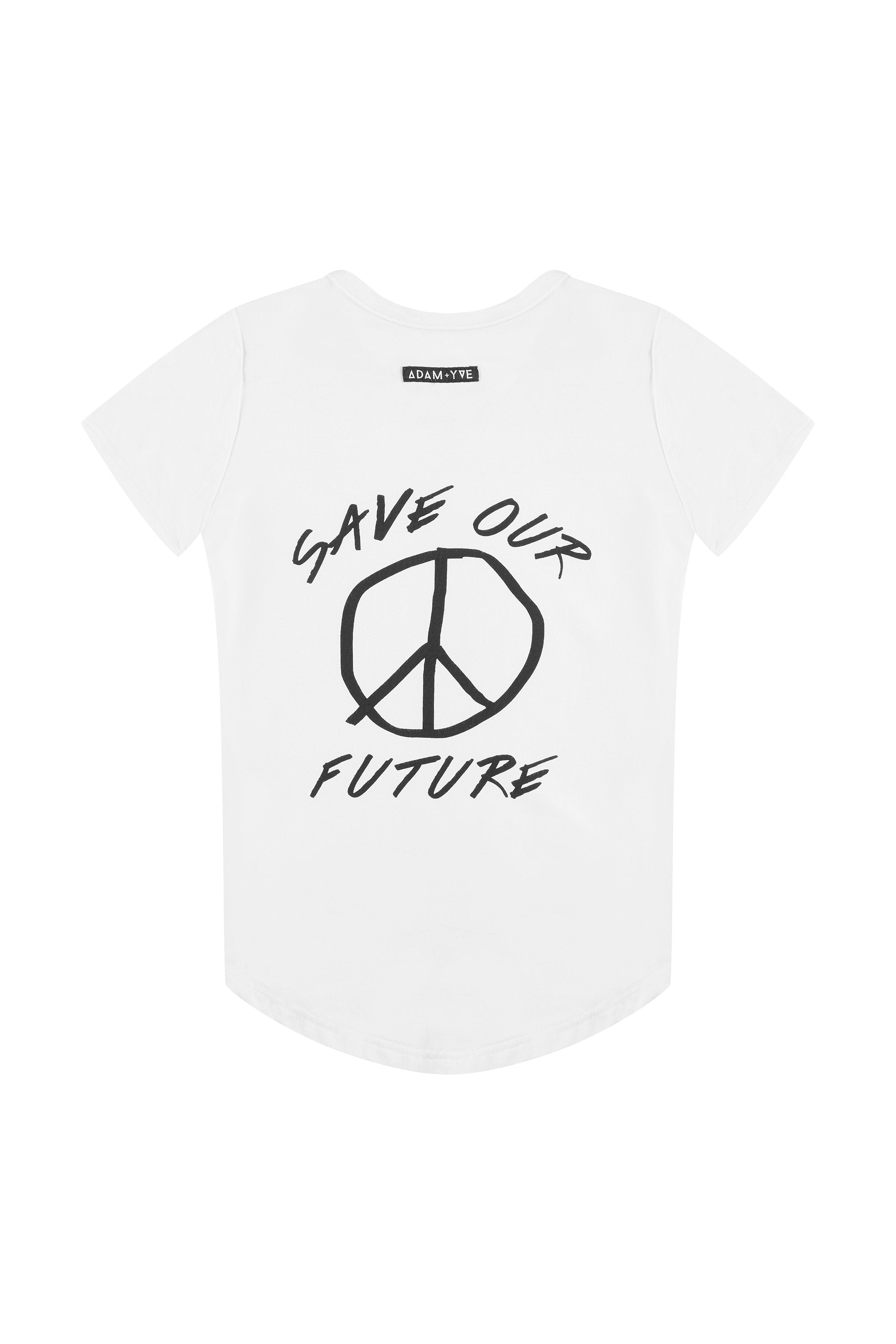 Future Side Zip Tee
