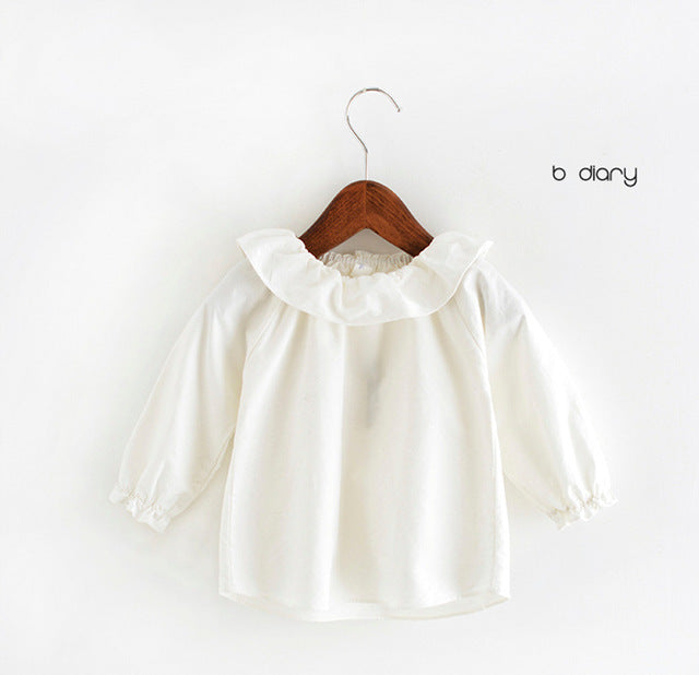 White Ruffles Top