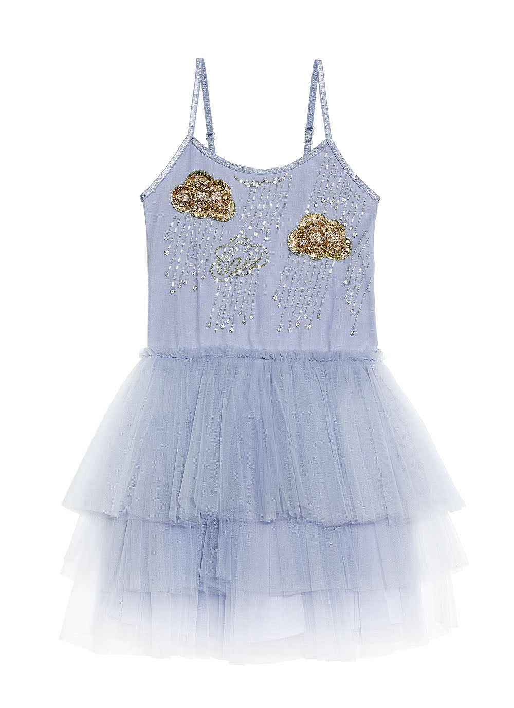 GOLDEN CLOUD TUTU DRESS - BLUEMOON