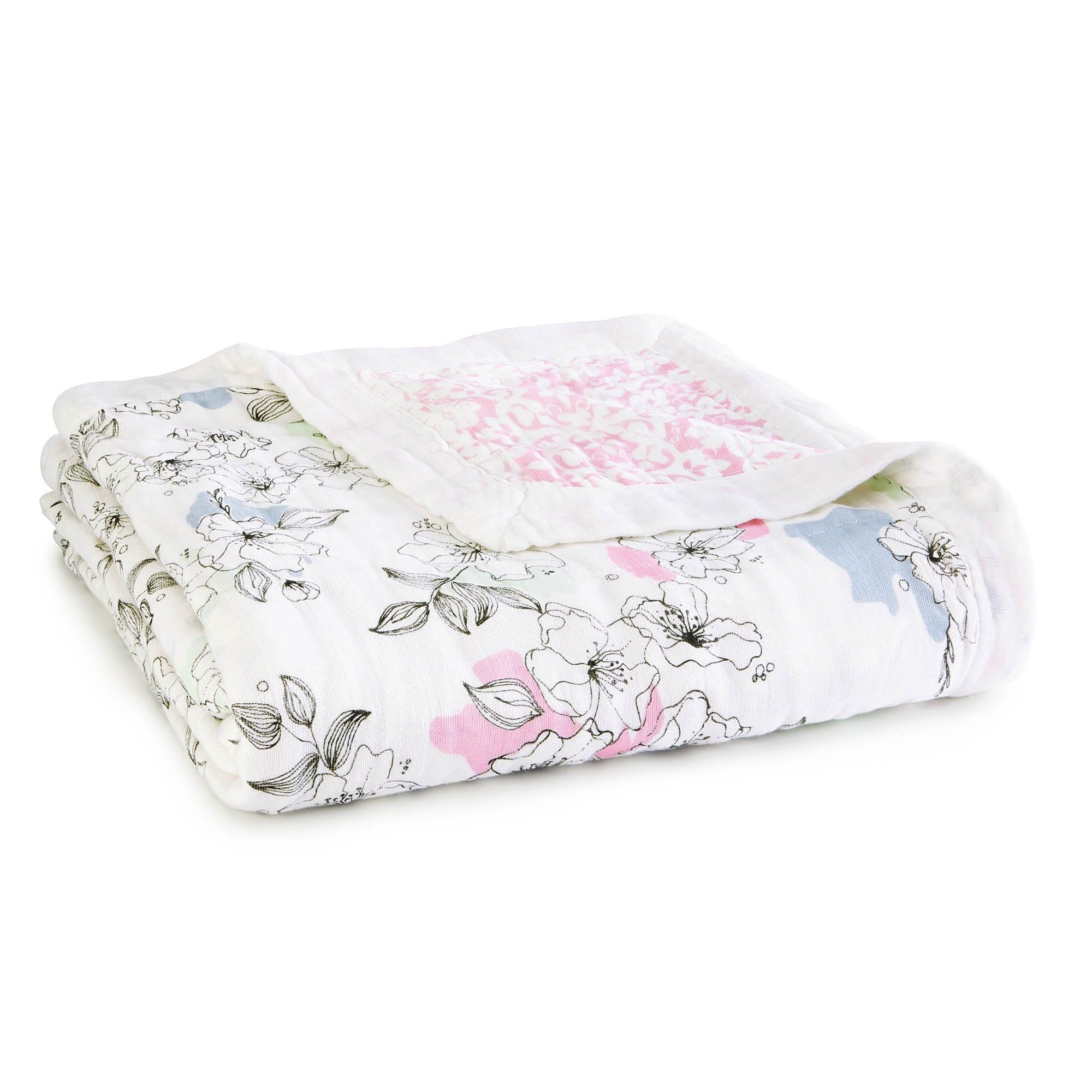 Aden and Anais Meadowlark silky soft dream blanket