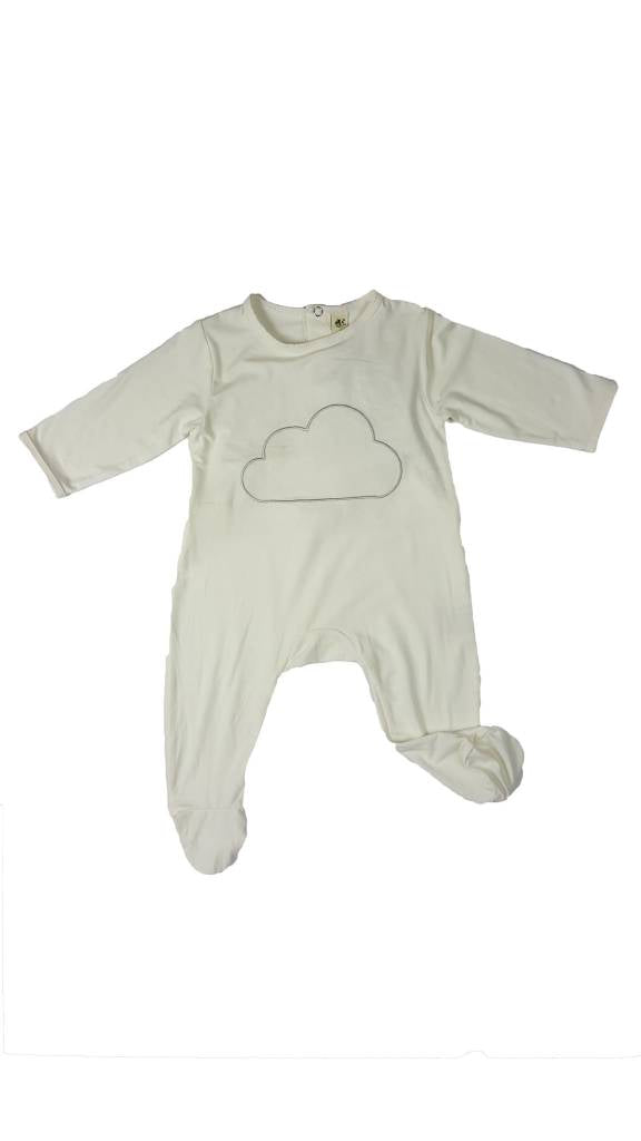 "Earth Baby Outfitters Bamboo ""Backflap"" Rear Opening Footie"