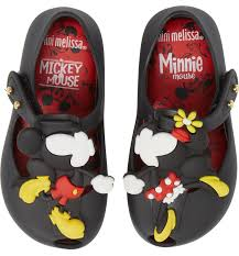 Toddler Girl's Mini Melissa Ultragirl Disney Twins Mary Jane - Black