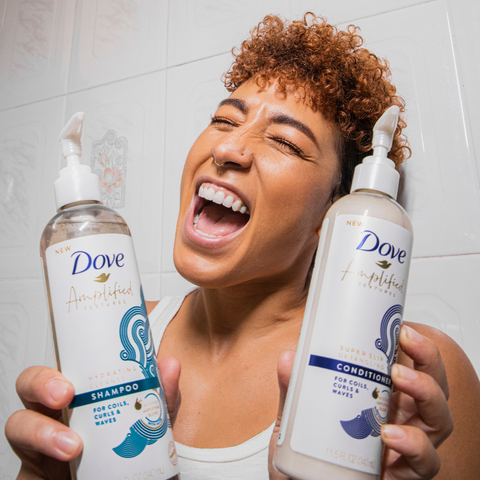 Sonja Edel for Dove Amplified Textures